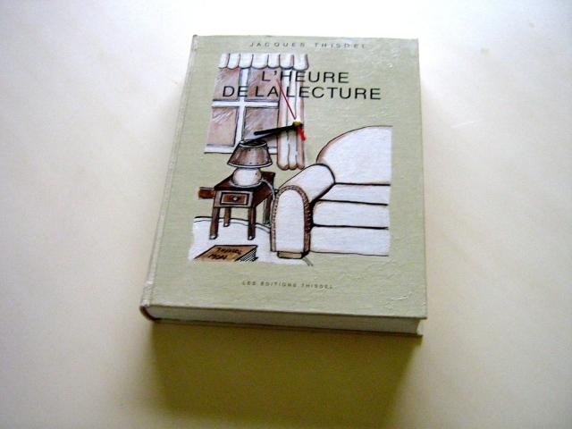 Jacques Thisdel - L'heure de la lecture