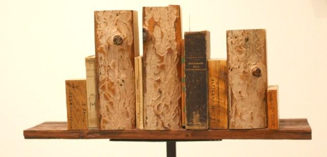 Raynald Légaré - La connaissance, bibliothèque