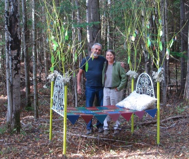 Les gagnants du concours : Diane Arsenault et Jean-Yves Michaud