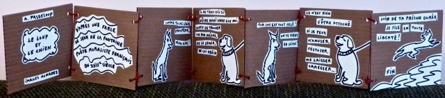 A. Pasdeloup - Le loup et le chien - 200$
