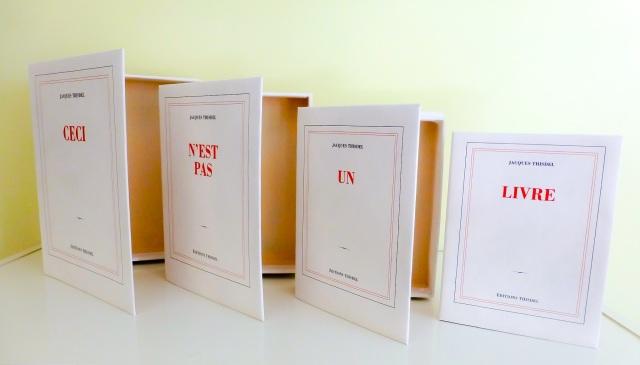 Jacques Thisdel - Ceci n'est pas un livre - 1000$