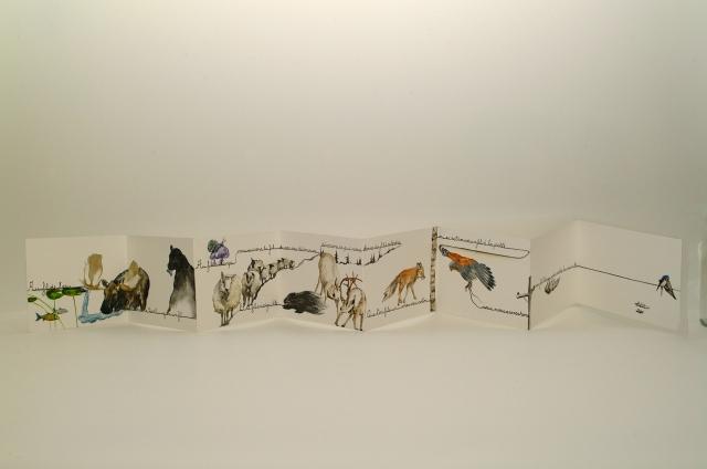 Marimaud Morin-Dupras - Le fil - 3e prix - 200$ - Vendu